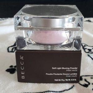 NIB BECCA Soft Light Blurring Powder - Pink Haze
